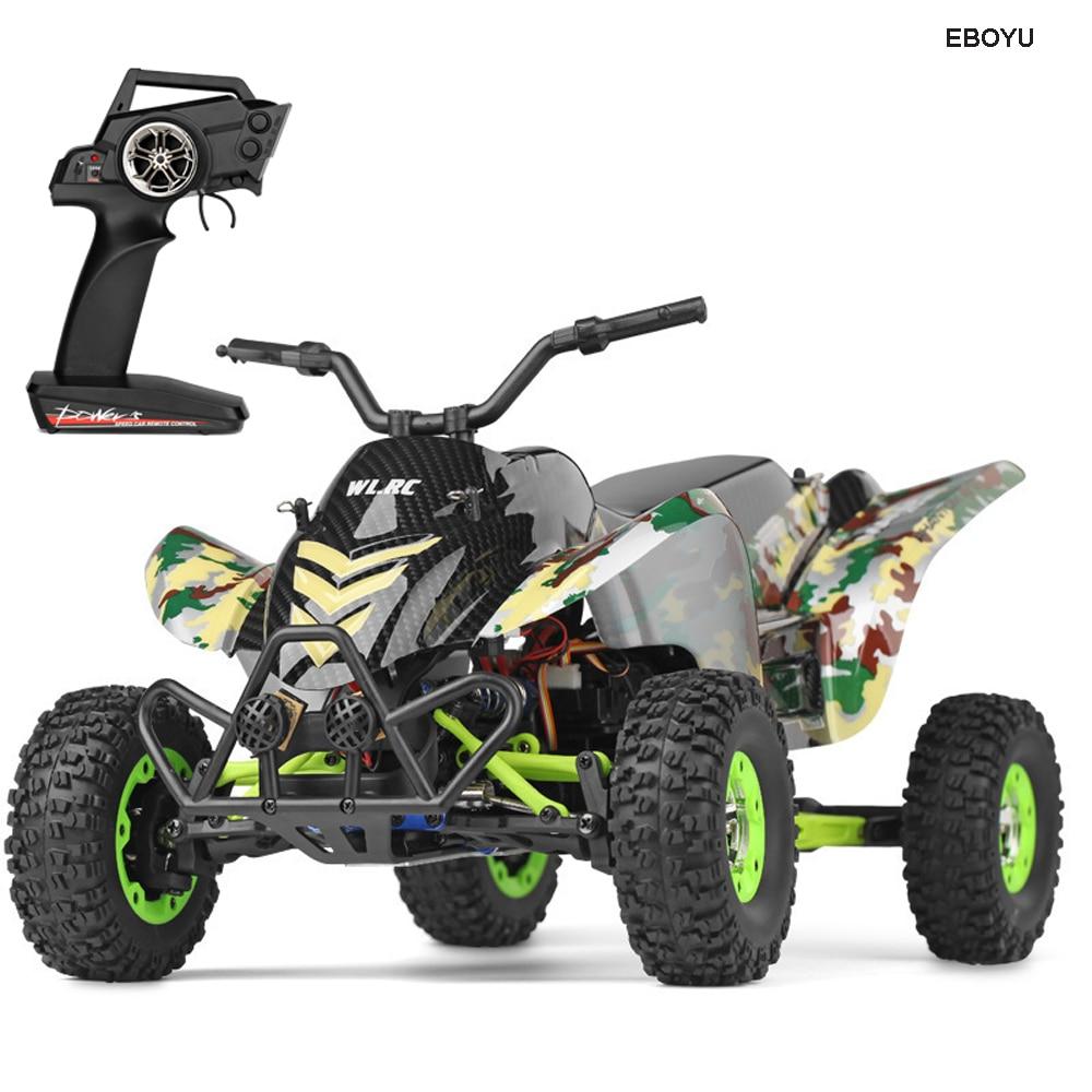 WLToys 12428A 2.4Ghz 50 KM/H على الطرق الوعرة لعبة سيارة راديو تسيطر على الصحراء موتو 1/12 نسبة RC سيارة 4WD عالية السرعة سباق السيارات