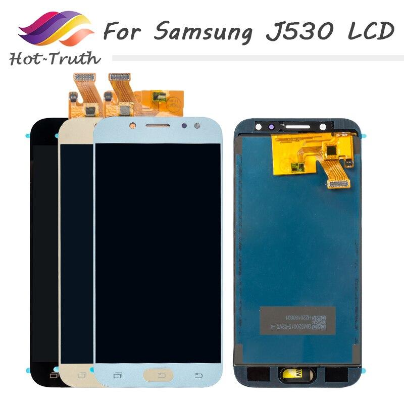 5 unids/lote negro oro rosa azul LCD para Samsung Galaxy J5 Pro 2017 J530 pantalla digitalizador montaje J530F/DS J530Y/DS pantalla táctil