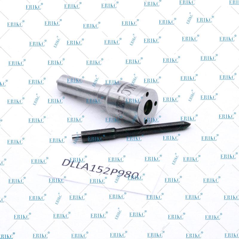 Boquilla de inyección de combustible ERIKC 093400-9800 DLLA152P980 boquilla de Common Rail DLLA 152P980 (DLLA 152P 980) para 095000-6100 095000-6980