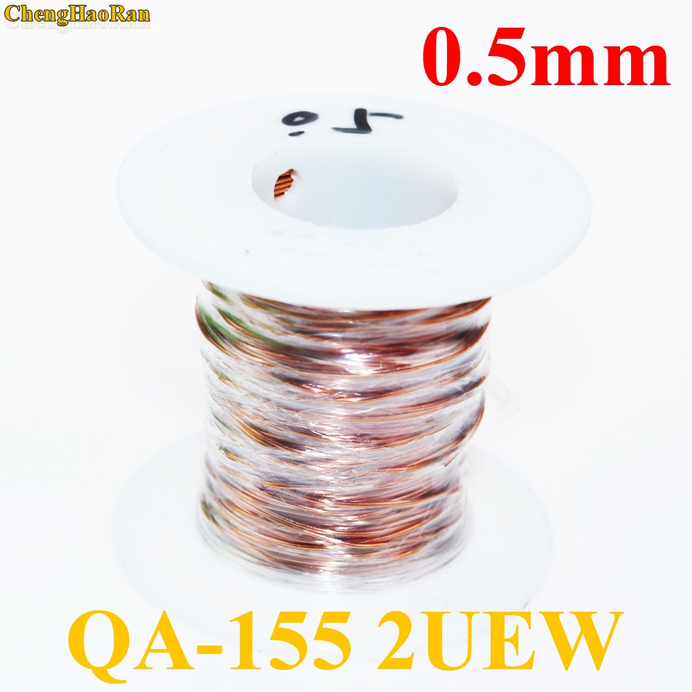kasi 0 01mm 0 02mm 120m enameled copper wire polyurethane enameled copper line soldering solder for iphone chip conductor wire ChengHaoRan 0.5mm Qa-1-155 2uew Polyurethane Enameled Wire Copper Wire Enameled Repair Cable 0.5 mm 1m 1 meter