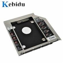 "Kebidu hdd 캐디 9.5mm 두 번째 sata 2.5 ""하드 디스크 드라이브 ssd 인클로저 애플 맥북 프로 a1297 a1278 a1286 cd rom"
