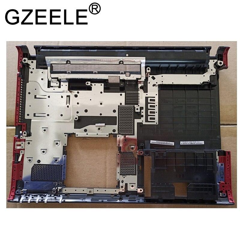 GZEELE NEW FOR Sony Vaio SVE14 SVE14A SVE14AG18M 012-001A-8977-A Bottom Base Cover lower case red frame
