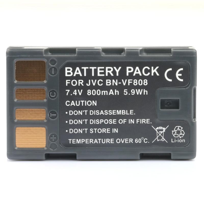 LANFULANG BN-VF808 BN VF808 аккумуляторная батарея для JVC MiniDV Everio видеокамеры BN-VF808AC BN-VF808U BN-VF818