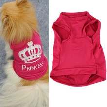 Colete para cachorro e gato, roupa da moda para cachorro e gato, princesa aug15 #2
