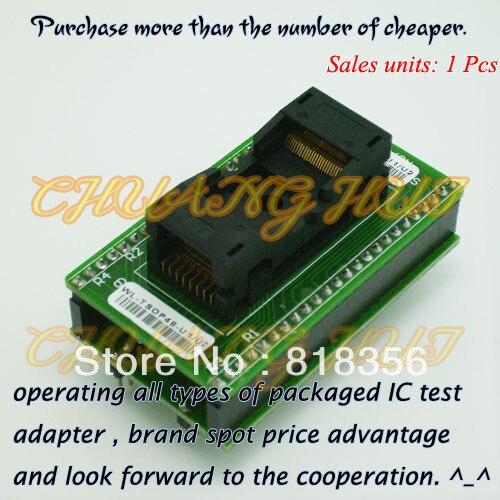 WL-TSOP48-U1/U2 adaptador para Wellon adaptador de programador, adaptador de prueba TSOP48/Socket IC