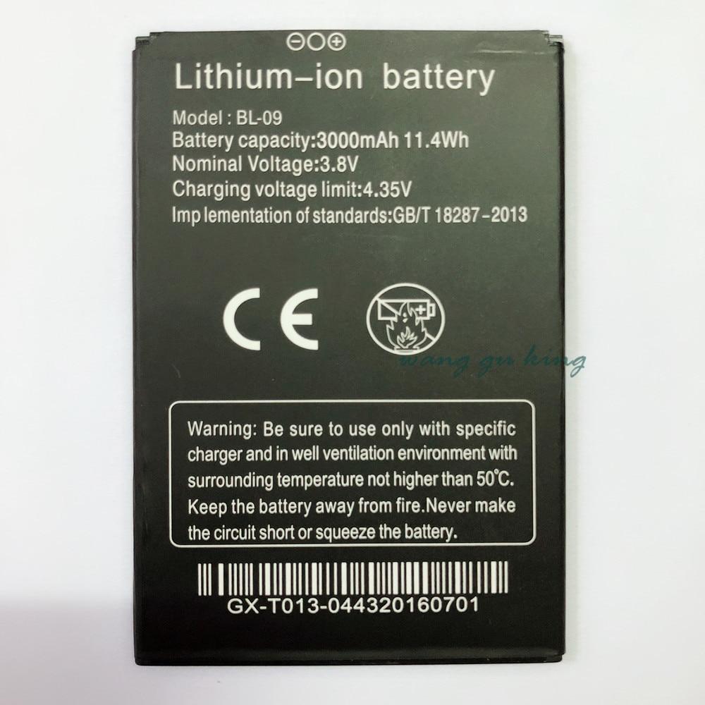 2018 100% Новый THL T9 Pro Аккумулятор 3000 мАч батарея BL-09 для THL T9 Pro смартфон Замена мобильных телефонов