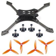 220MM bricolage FPV course Drone accessoires Combo FX220mm/220mm cadre Kit 5152S CW CCW accessoires 2306-2400KV 3-4S moteurs