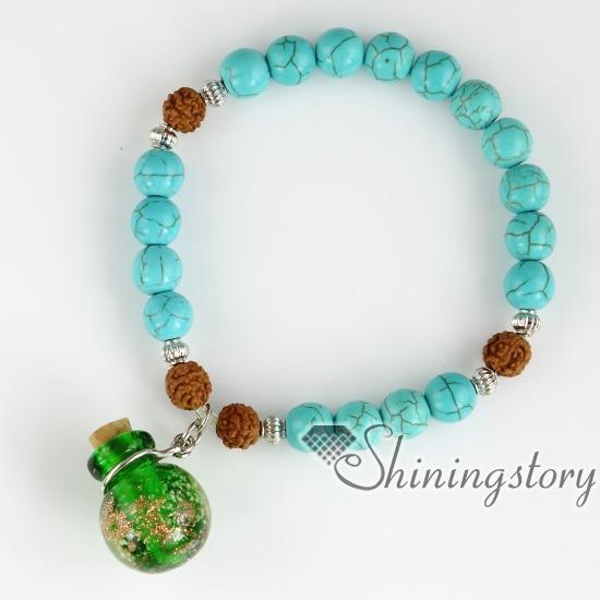 bodhi seed bracelet beaded charm bracelets oil diffuser bracelets tibetan prayer beads tree of life jewellery buddhist prayer be