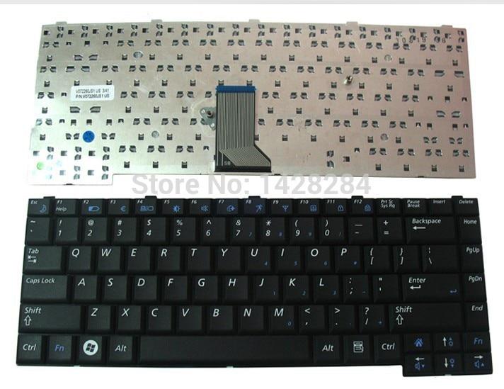 SSEA جديد لوحة مفاتيح الكمبيوتر المحمول الولايات المتحدة لسامسونج R410 R460 R453 R458 R408 R403
