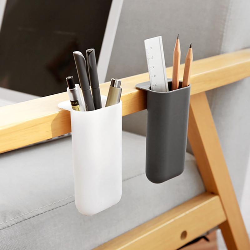 Креативные пастельные ящики для хранения настольная подставка для ручек, настольный органайзер для ручек, кастрюля для хранения мелочей, ш...