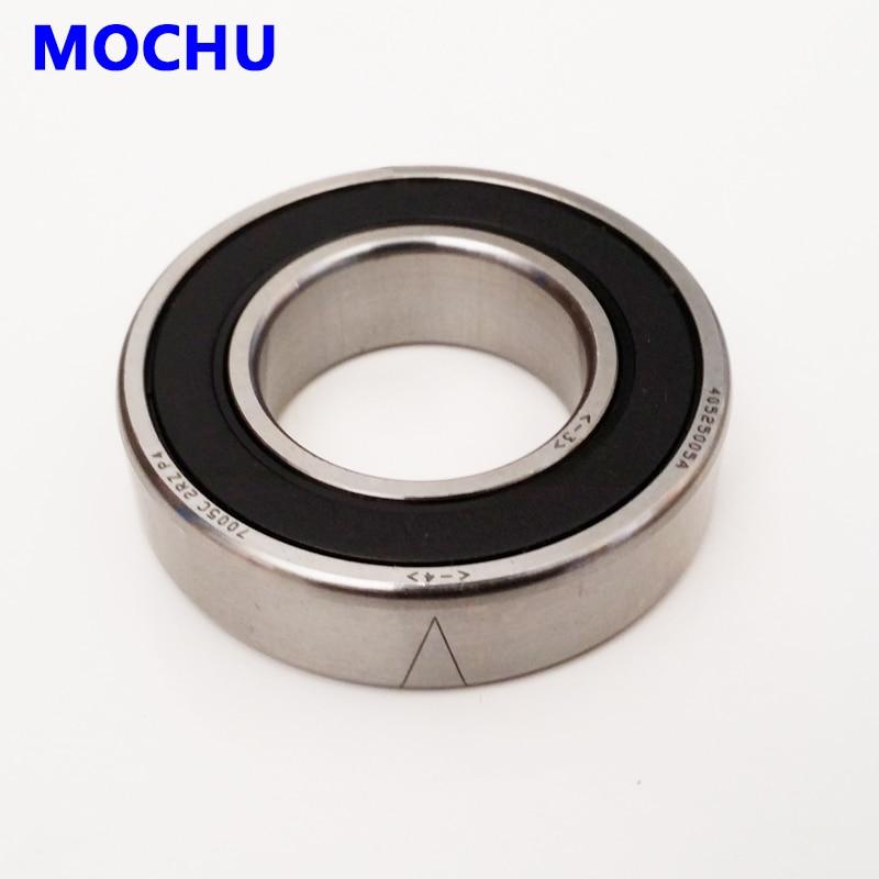 Rodamientos de contacto Angular sellados MOCHU, 1 Uds., 7208 7208C 2RZ P4...