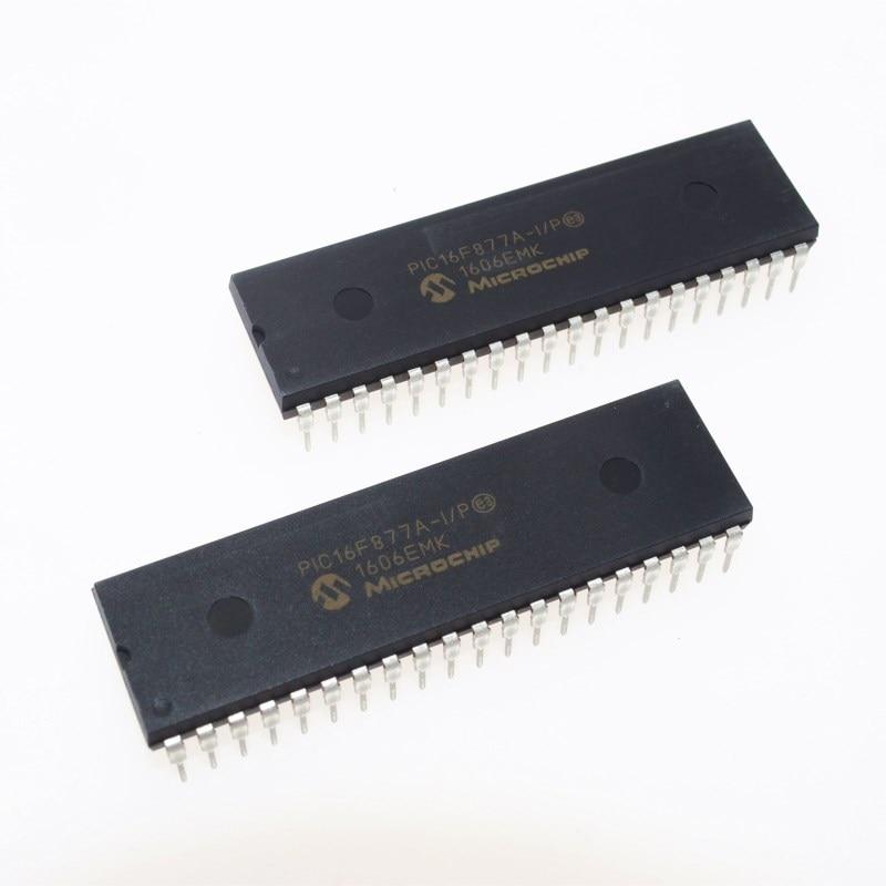 PIC16F877A-I/P PIC16F877A PIC16F877 16F877A-I/P DIP-40 New original IC 28/40/44-Pin Enhanced Flash