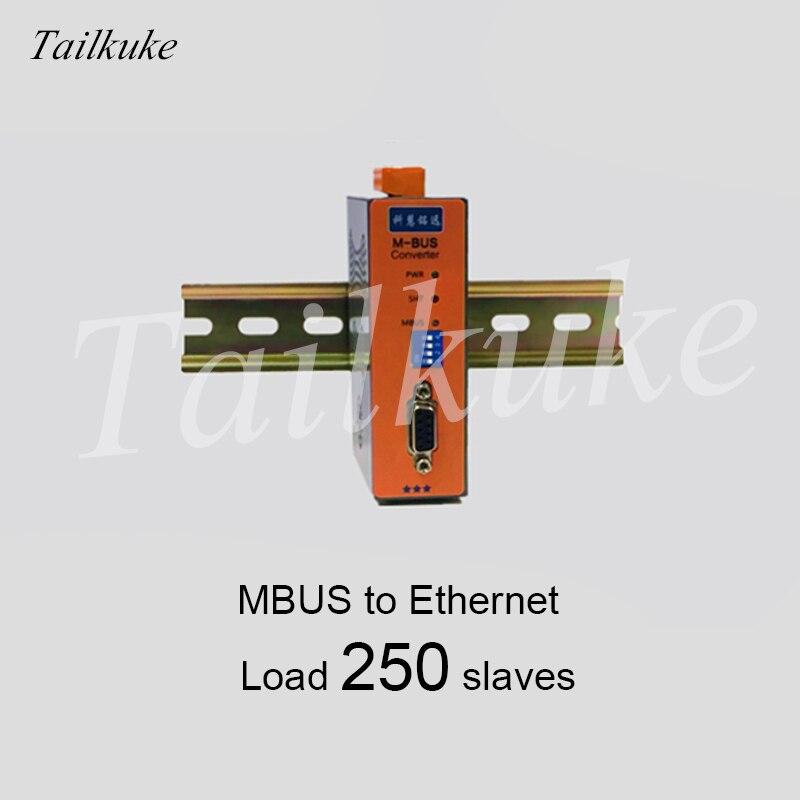 M-BUS/MBUS a Ethernet/convertidor de transmisión (carga 250) KH-ET-M250