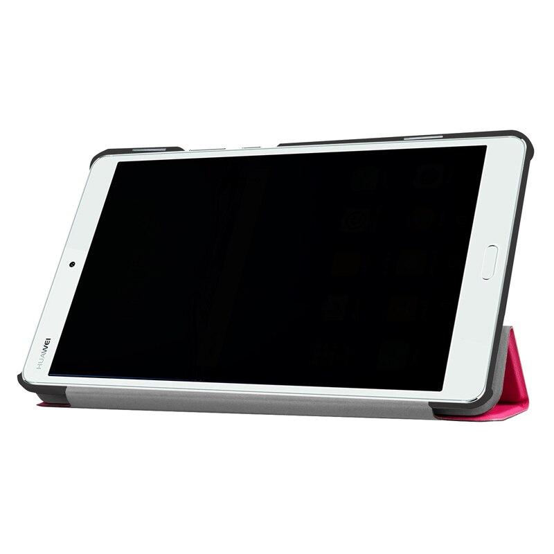 Soporte de la PU Funda de cuero para Huawei Mediapad M3 Lite 8 CPN-W09 CPN-AL00 Tablet cubierta para Huawei Mediapad M3 lite 8,0 caso