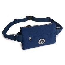 Sacs de taille pour femmes imperméable à leau en Nylon léger Fanny sacs Multi poches voyage Bum Packs dames portefeuille décontracté téléphone poche sac de ceinture