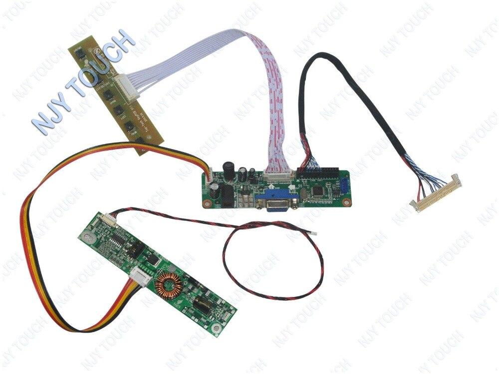 V M70A VGA LVDS LCD Placa de controlador para 18,5 pulgadas WXGA 1366X768 WLED M185BGE-L23 M185BGE-L22 M185BGE-L10 Panel