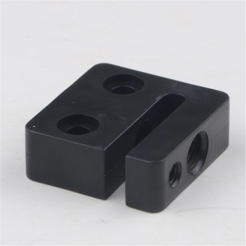 2 uds * TR8x8/TR8x4/TR8x2 8mm Acme Anti retroceso tuerca bloque CNC TR8 POM tuerca