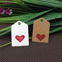 200 Uds. Tarjeta de etiqueta pequeña de papel Kraft, regalo de agradecimiento, etiqueta colgante hecha a mano, precio de jabón, Etiquetas de equipaje, tarjeta de nota, recuerdos de boda