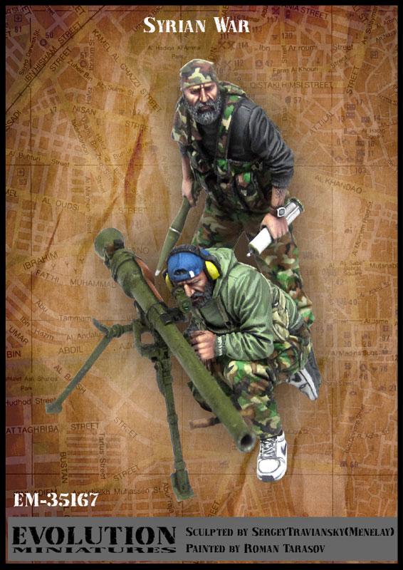 1/35, guerra Sírio, Soldado Modelo de Resina GK, tema Militar, Desmontado e sem pintura kit
