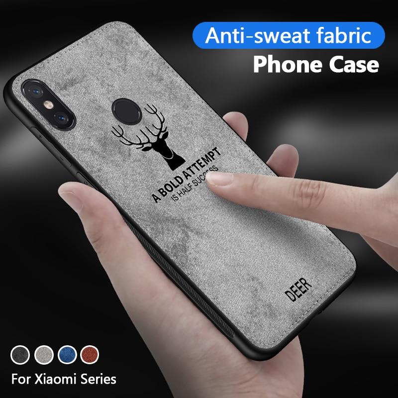 Deer Phone Case For Xiaomi Redmi Note 8T Case For Xiaomi Mi 9 9t pro 9se 8 Mi8 Mi6 Case Redmi Note 7 8 Pro 7a Cloth Cover