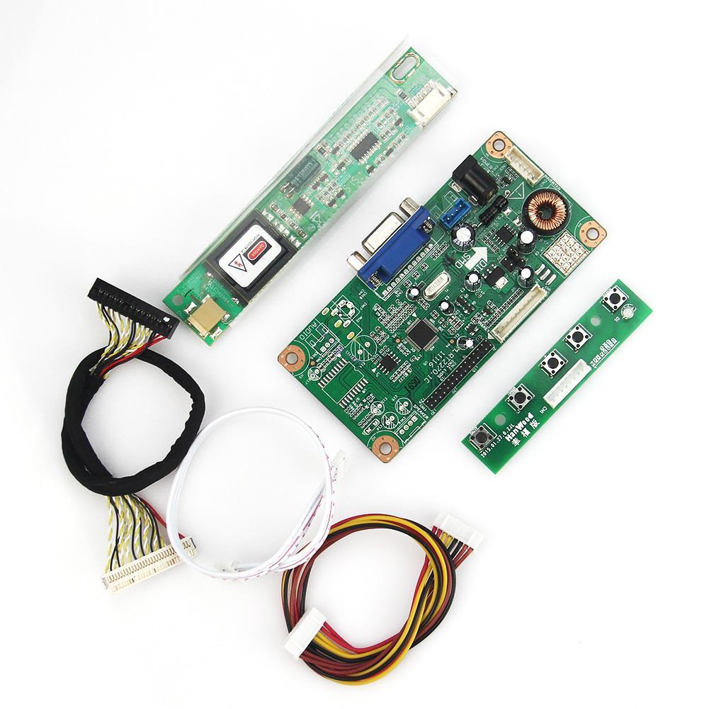 Placa controladora LCD/LED VGA 1280x800 LVDS Monitor reutilizar ordenador portátil para N141I3-L02 LP141WX3-TLN1