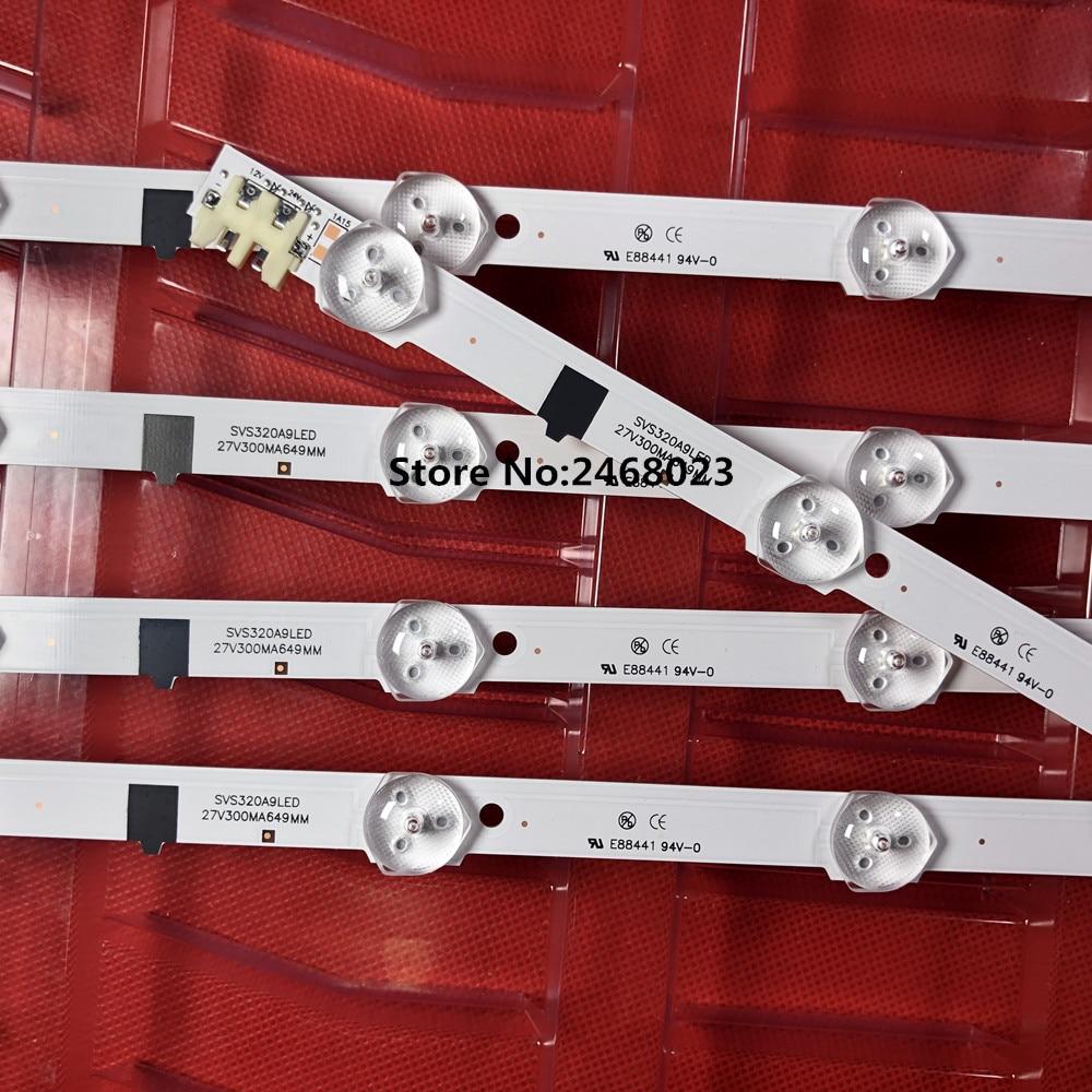 Новинка! 20 шт. * 9LED LED baracklight D2GE-320SC0-R3 2013SVS32H для 32-дюймового телевизора UA32F4088AR CY-HF320AGEV3H UE32F5000 650 мм