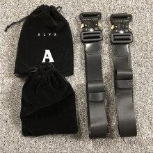 Catalyx-cinturón de seguridad para montaña rusa, cinturón de lona con hebilla de Metal Unisex, Hip Hop, 1017