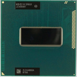 Intel i7 3630QM SR0UX PGA 2.4GHz Quad Core 6MB Cache TDP 45W 22nm Laptop CPU Socket G2