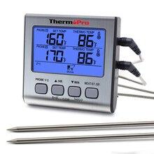 Thermopro TP17 thermomètre extérieur numérique thermomètre de cuisine pour four cuisson viande BBQ thermomètre
