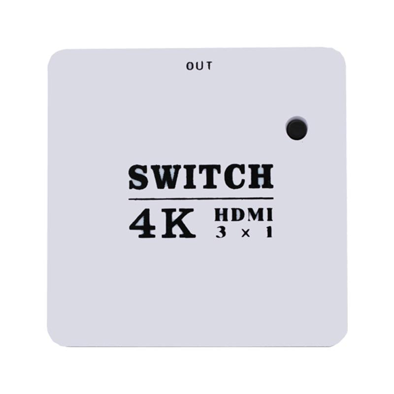 MINI divisor HDMI 3 puertos Hub Box, 3 en 1 interruptor automático,...