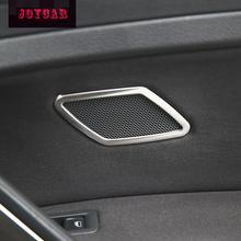 2Pcs Interior Audio Speaker Cover Molding Trim Sticker Stainless Steel For VW GOLF 7 MK7 VII Car Accessories