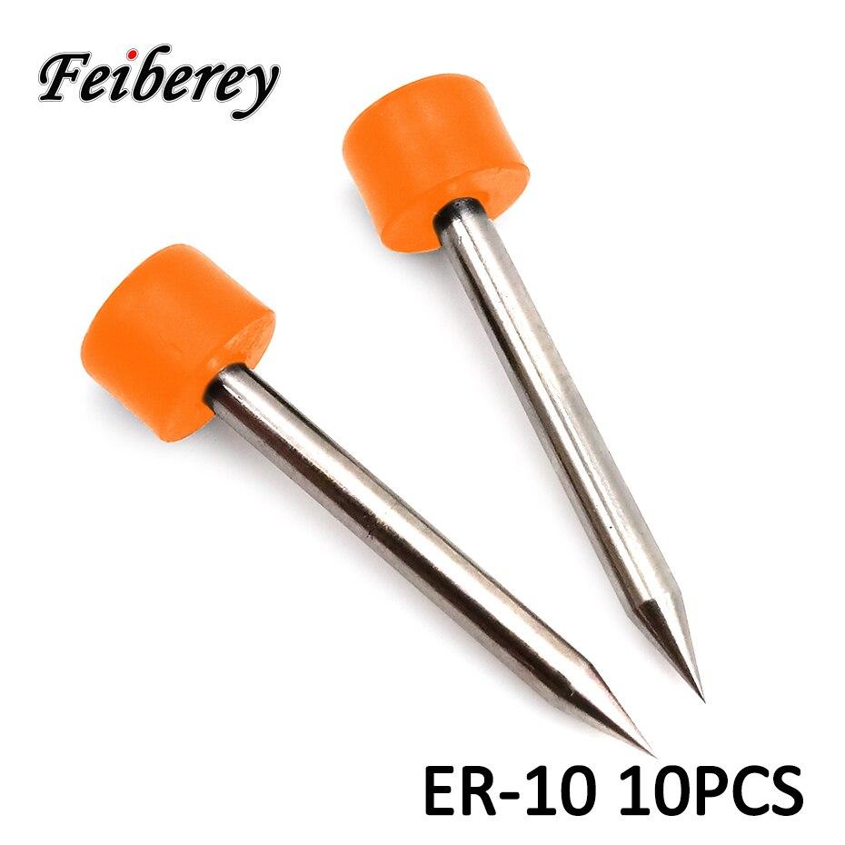 10 pares de electrodos Sumitomo ER-10 para T39 T66 T81C T600C T400S empalme de fusión de fibra óptica de alto rendimiento nuevo electrodo