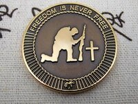 cheap custom coin low price oem coin badge hot sales custom made military sandblasting coin medal factory outlet copper coin