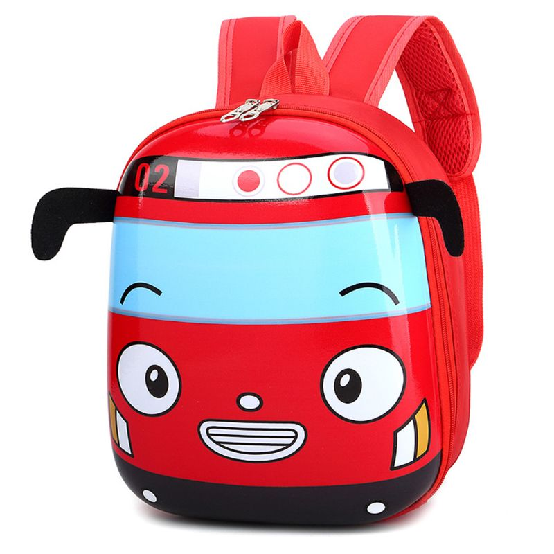 Cute Favorable Schoolbags Children Kids Cartoon 3D Car Shape School Backpack Kindergarten Bookbag for Boys Girls Childs