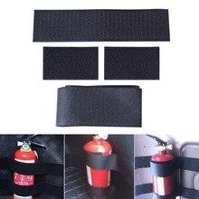 SPEEDWOW sac de stockage et stockage   Coffre de voiture à 4 pièces/ensemble sac de stockage de magasin, réseau de stockage, extincteur à bande magique, ceinture fixe