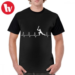 Camiseta do presente do jogador de críquete do batimento cardíaco do jogador de críquete do pulso de coração t camisa impressa 5x camiseta gráfica poliéster homem tshirt