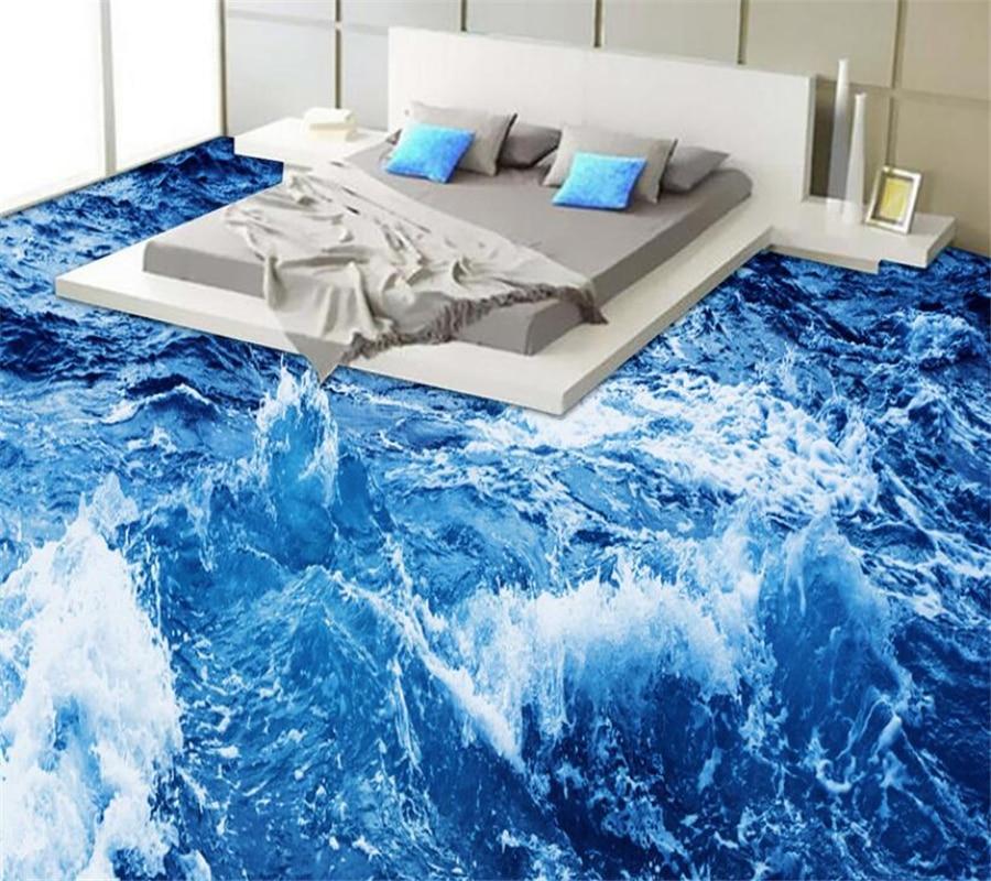 Beibehang-لوحة أرضية مشعة مع المحيط ، للحمام ، أرضية غرفة المعيشة ، غرفة النوم ، اللوحة الخارجية ثلاثية الأبعاد