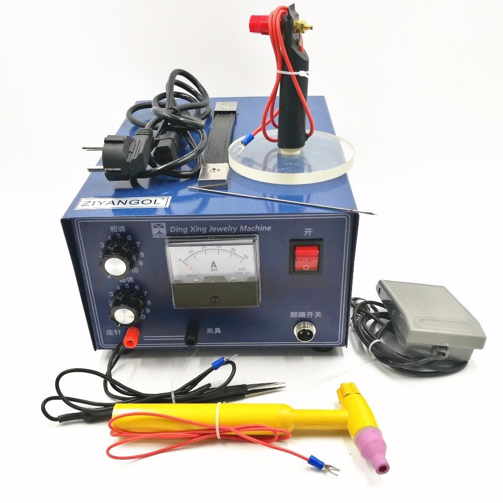 Точечная Импульсная Сварка 0,5-30A 400 Вт, ручная точечная сварка, сварочное ожерелье с кулоном в форме машины, сварочный аппарат для обработки ю...