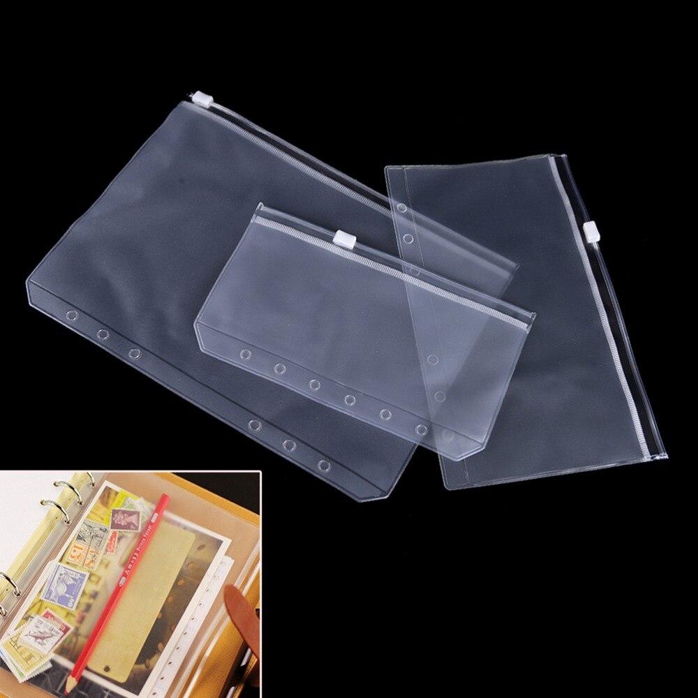 1 шт. 3 размера дорожный блокнот ежедневник сумка на молнии товары для хранения
