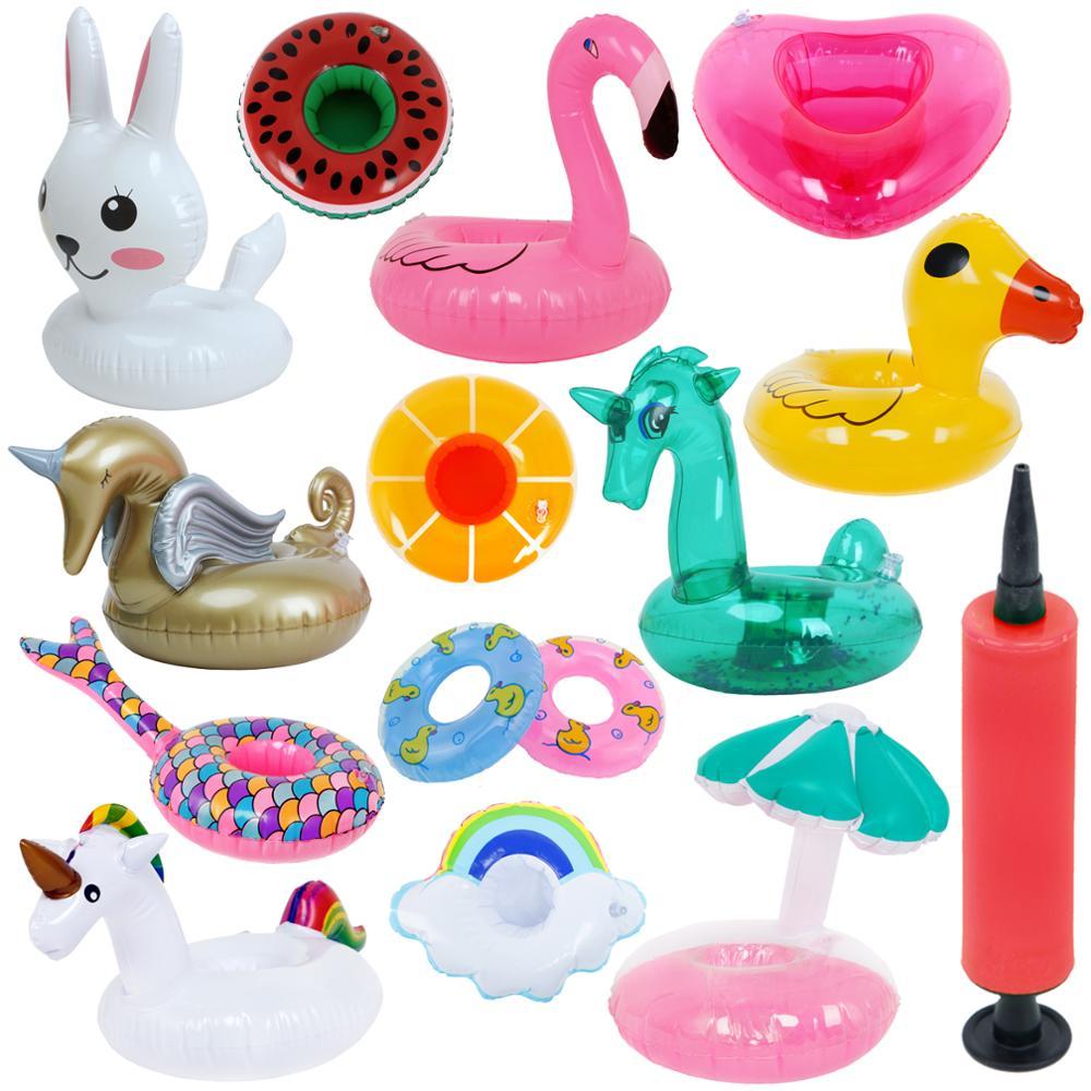 Модный Мини купальный спасательный круг спасательный ремень поплавок Летний Пляжный Бассейн Кольцо Буй насос аксессуары для куклы Барби детский день рождения игрушка для ванны