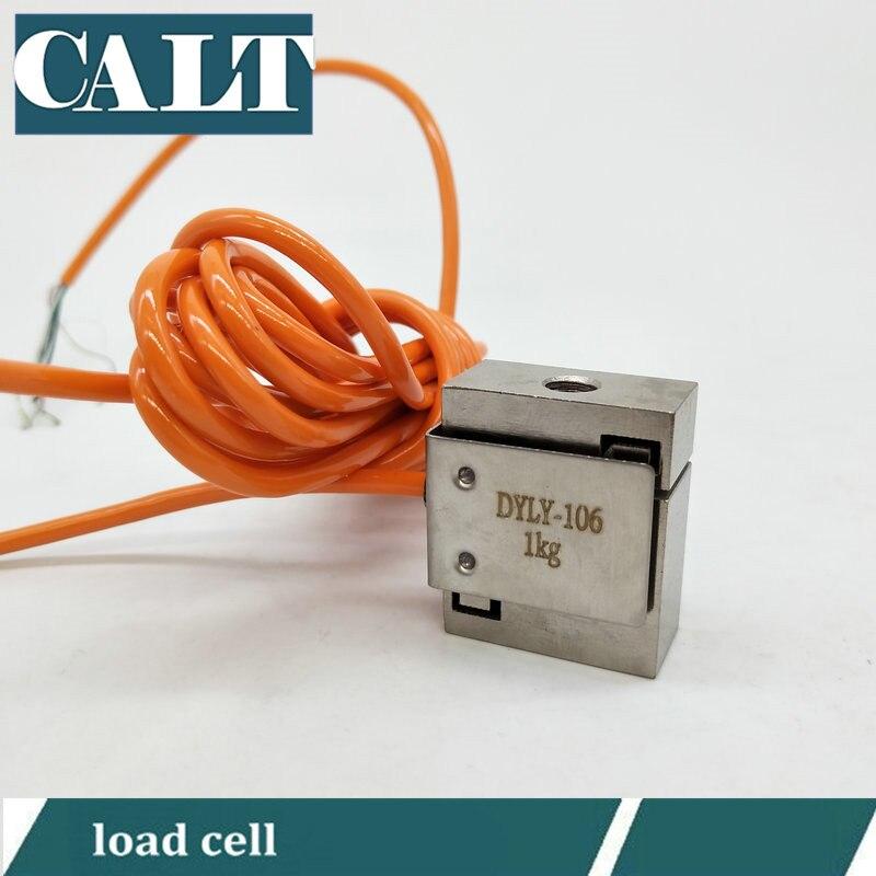 DYLY-106 1 3 5 10 20 30 50 KG Tamanho Micro Sensor de Força De Compressão e Tensão Pull S Tipo de Feixe célula de carga