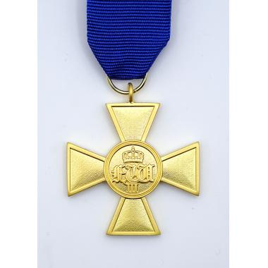 Emd prussian serviço de 25 anos medal1