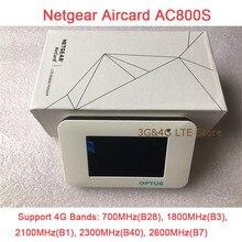 5 teile/los ENTSPERRT Netgear Aircard AC800S 4g LTE 450 mbps Mobile Hotspot WiFi Router