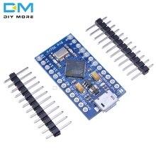Pro Micro ATmega32U4 3,3 В 16 м 16 МГц Замена ATmega328 для Arduino Pro Mini с 2-рядным штыревым разъемом для Leonardo Mini Usb интерфейса