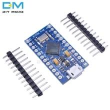 Pro Micro ATmega32U4 3,3 V 16M 16MHz reemplazar ATmega328 para Arduino Pro Mini con 2 cabezales de pines de fila para Leonardo Mini interfaz Usb