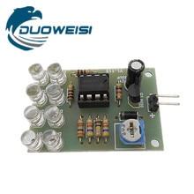 LM358 breathing light parts / electronic DIY fun production 8 5MM LED blue flashing