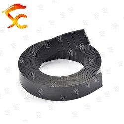 O envio gratuito de 8 metros p3 largura da correia plana 40mm espessura 3mm cor poliuretano preto com núcleo de aço para equipamentos de fitness