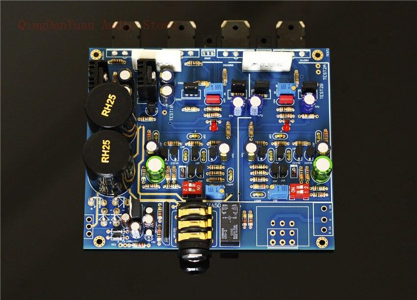 QHA4 Audio HIFI Class A FET Transistor discrete component Headphone Amplifier Assembled board enlarge