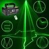 Projecteur Laser vert professionnel à distance 50mw effet d'éclairage de scène DMX 512 Scanner DJ Disco fête spectacle lumières