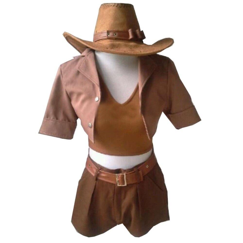 2019 el Sheriff de Piltover Safari Caitlyn Cosplay disfraz Anime hecho a medida uniforme